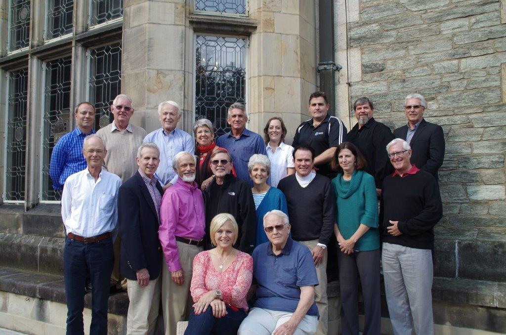 <strong>Sitting:</strong> Jessica Magagna, John Magagna<br>