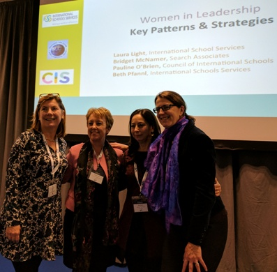 From Left: Laura Light, Pauline O'Brien, Beth Pfannl , and Bridget McNamer