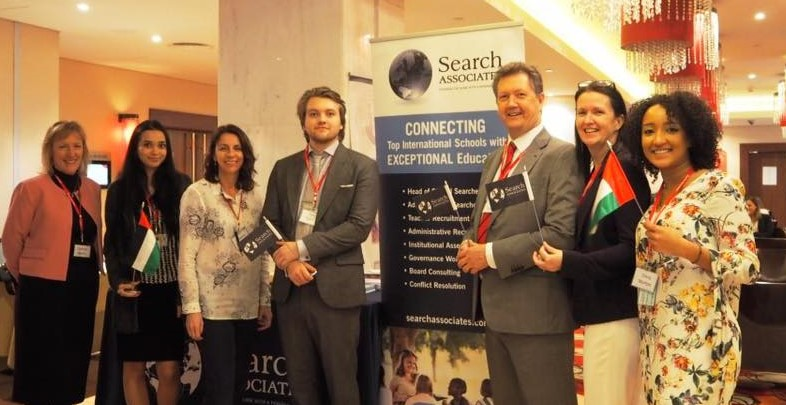 Plenty of support and guidance available from members of the Dubai Search Fair team