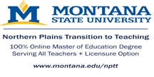 Montana State University - The Northern Plains Transistion to Teaching (NPTT)