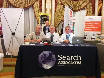 Associates at NESA conference, from left: Ralph Jahr, Dr. David Cramer, and Ray Sparks